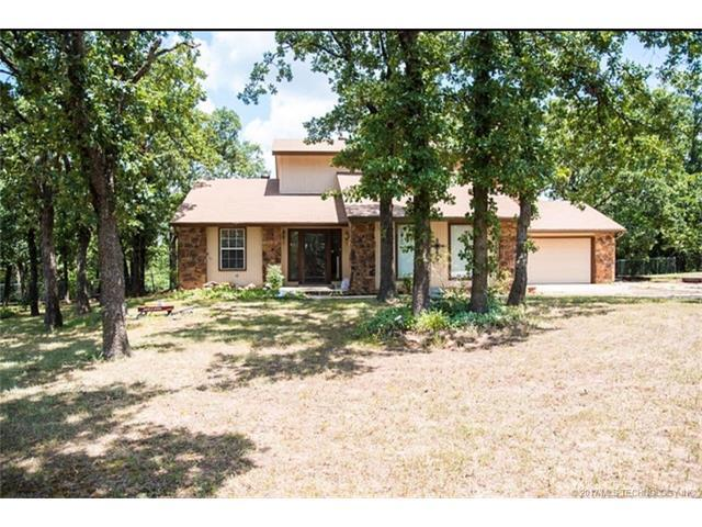 981 Ridge Oak Road, Sapulpa, OK 74066 (MLS #1731475) :: The Boone Hupp Group at Keller Williams Realty Preferred