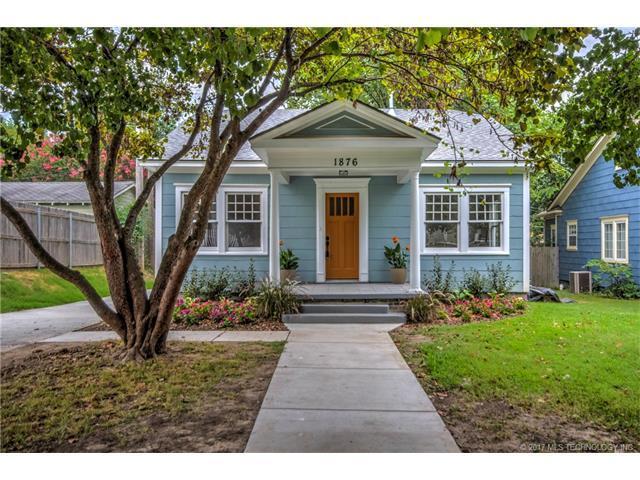 1876 E 17th Street, Tulsa, OK 74104 (MLS #1732556) :: The Boone Hupp Group at Keller Williams Realty Preferred
