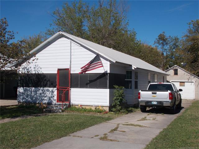115 W Main Street, Sperry, OK 74073 (MLS #1740934) :: The Boone Hupp Group at Keller Williams Realty Preferred