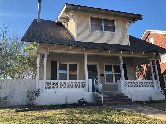 408 S Okmulgee Avenue, Okmulgee, OK 74447 (MLS #1743563) :: The Boone Hupp Group at Keller Williams Realty Preferred