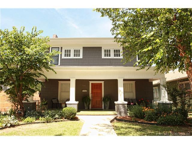 1444 S Elwood Avenue, Tulsa, OK 74119 (MLS #1745360) :: The Boone Hupp Group at Keller Williams Realty Preferred