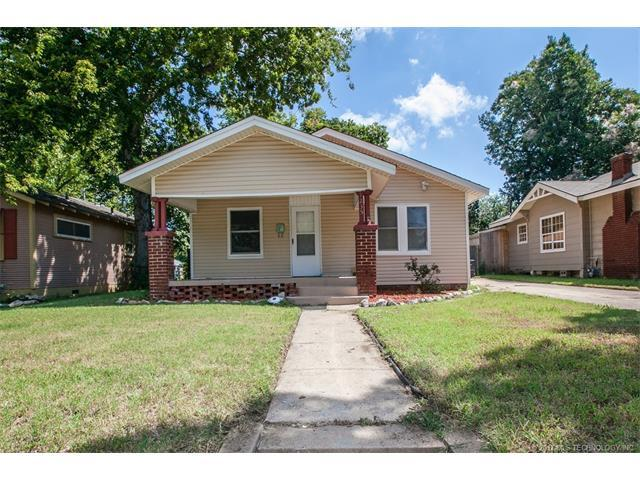 1235 S Florence Avenue, Tulsa, OK 74104 (MLS #1745494) :: The Boone Hupp Group at Keller Williams Realty Preferred