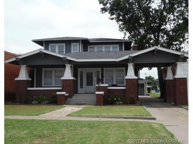 309 E Broadway Street, Cushing, OK 74023 (MLS #1746407) :: The Boone Hupp Group at Keller Williams Realty Preferred