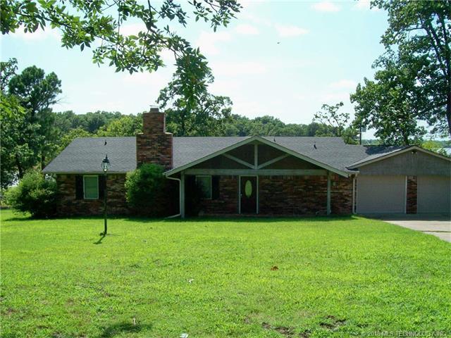 2037 W Mcgill Circle, Eufaula, OK 74432 (MLS #1800670) :: The Boone Hupp Group at Keller Williams Realty Preferred
