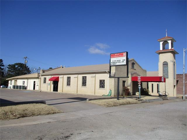 220 S Main Street, Eufaula, OK 74432 (MLS #1801931) :: The Boone Hupp Group at Keller Williams Realty Preferred