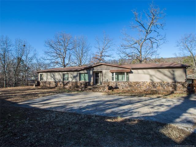 326 Private Road 047 Road, Eucha, OK 74342 (MLS #1802538) :: The Boone Hupp Group at Keller Williams Realty Preferred