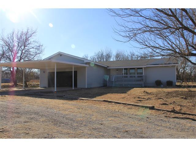 2455 N 185 Road, Mounds, OK 74047 (MLS #1805333) :: The Boone Hupp Group at Keller Williams Realty Preferred
