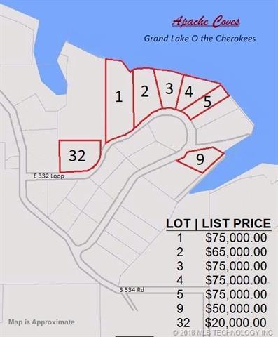 Lot 32 E 332 Loop, Jay, OK 74346 (MLS #1805704) :: Brian Frere Home Team