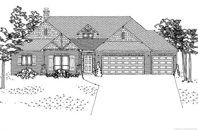 13506 S Oak Court, Glenpool, OK 74033 (MLS #1806387) :: 918HomeTeam - KW Realty Preferred