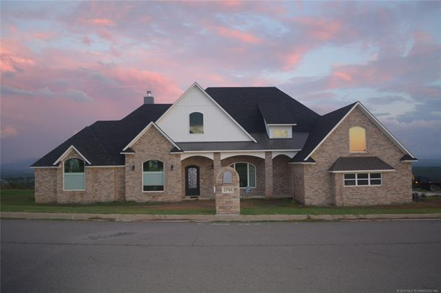 237610 Wolf Crest Way, Wister, OK 74966 (MLS #1806460) :: The Boone Hupp Group at Keller Williams Realty Preferred