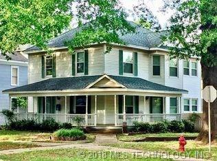 501 N Morton Avenue, Okmulgee, OK 74447 (MLS #1807336) :: The Boone Hupp Group at Keller Williams Realty Preferred