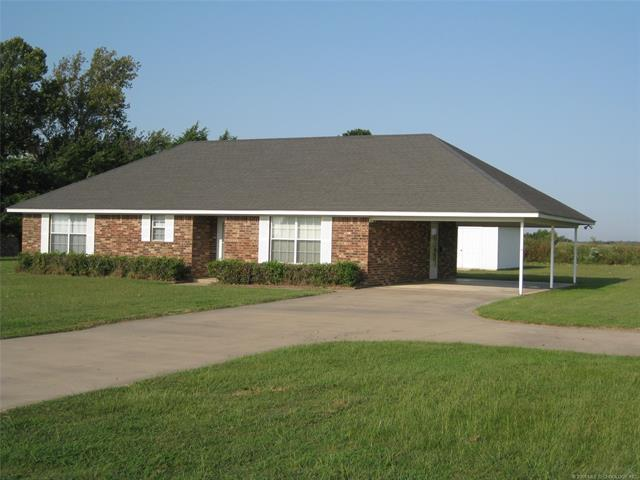 1453 Kirsey Road, Calera, OK 74730 (MLS #1807842) :: The Boone Hupp Group at Keller Williams Realty Preferred