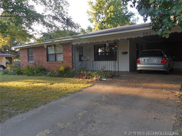 301 W Ashland Avenue, Mcalester, OK 74501 (MLS #1808754) :: The Boone Hupp Group at Keller Williams Realty Preferred