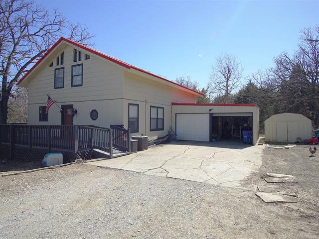 366450 E 5600 Road, Terlton, OK 74081 (MLS #1809190) :: The Boone Hupp Group at Keller Williams Realty Preferred