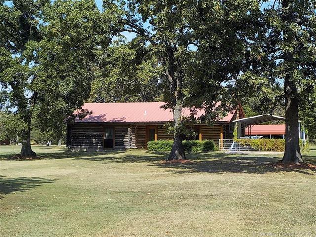 9873 E 580 Road, Locust Grove, OK 74352 (MLS #1809554) :: The Boone Hupp Group at Keller Williams Realty Preferred