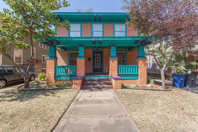 1158 N Cheyenne Avenue, Tulsa, OK 74106 (MLS #1810011) :: Brian Frere Home Team