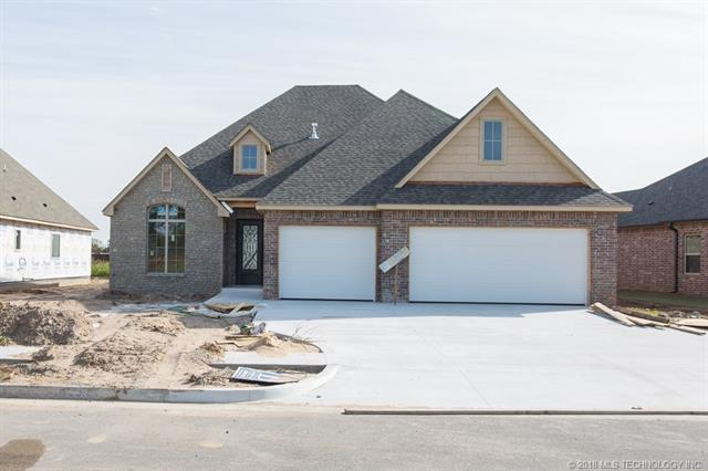 12545 S 73rd East Place, Bixby, OK 74008 (MLS #1810047) :: Brian Frere Home Team