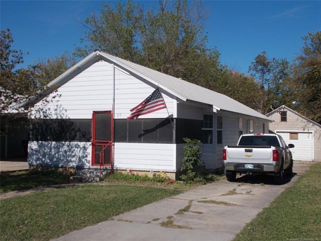 115 W Main Street, Sperry, OK 74073 (MLS #1811731) :: Hopper Group at RE/MAX Results