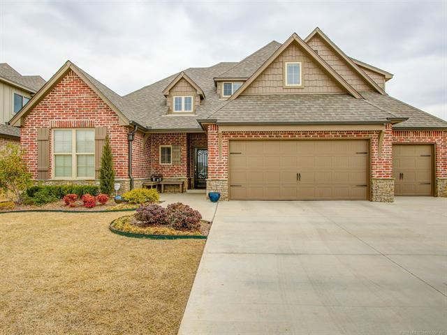 12497 S 73rd East Place, Bixby, OK 74008 (MLS #1811803) :: Brian Frere Home Team