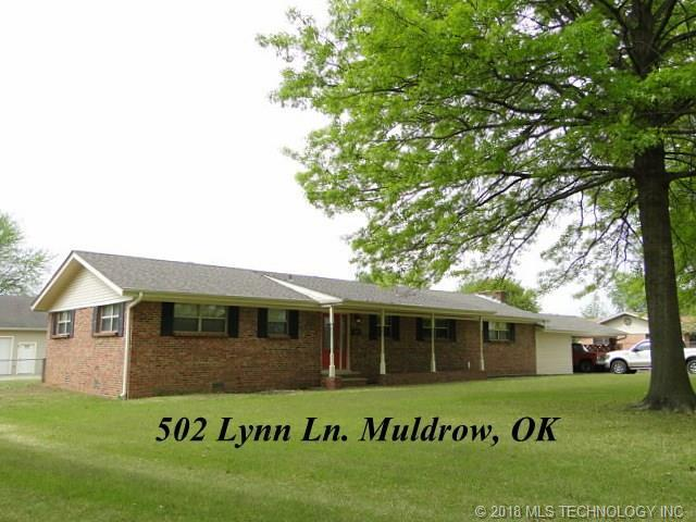 502 Lynn Lane, Muldrow, OK 74948 (MLS #1815906) :: Hopper Group at RE/MAX Results