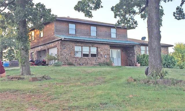 7358 W Gassaway Road, Hulbert, OK 74441 (MLS #1817339) :: Brian Frere Home Team