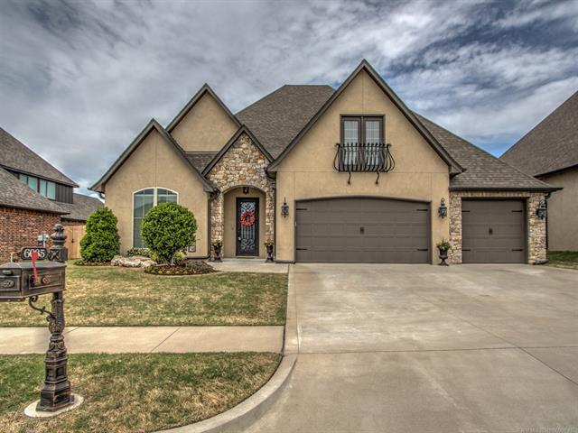 6035 S 143rd Place, Bixby, OK 74008 (MLS #1817456) :: Brian Frere Home Team
