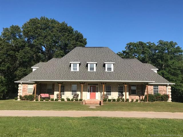 2610 W Chicken Fight Road, Atoka, OK 74525 (MLS #1818243) :: Hopper Group at RE/MAX Results