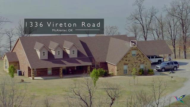 1336 Vireton Road, Eufaula, OK 74432 (MLS #1818482) :: Brian Frere Home Team
