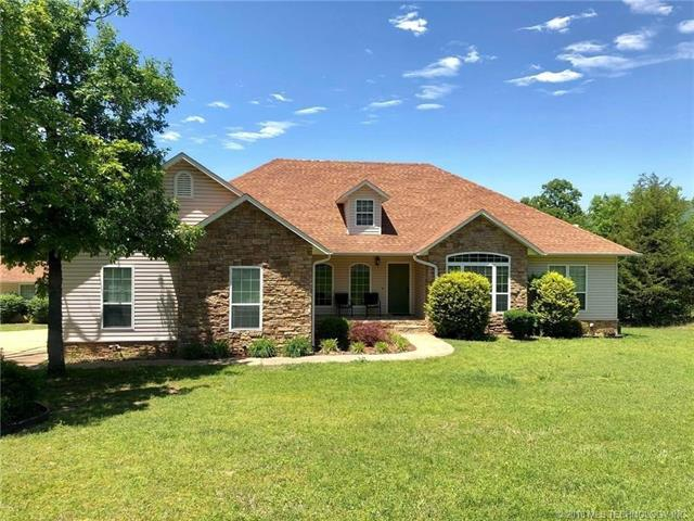 34800 Wolf Trail, Wister, OK 74966 (MLS #1819412) :: Hopper Group at RE/MAX Results