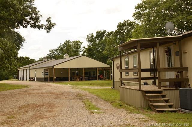 18923 Dripping Springs Lake Road, Okmulgee, OK 74447 (MLS #1821531) :: Hopper Group at RE/MAX Results