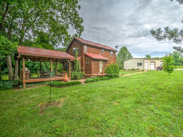 402262 W 2400 Road, Bartlesville, OK 74006 (MLS #1821911) :: Hopper Group at RE/MAX Results