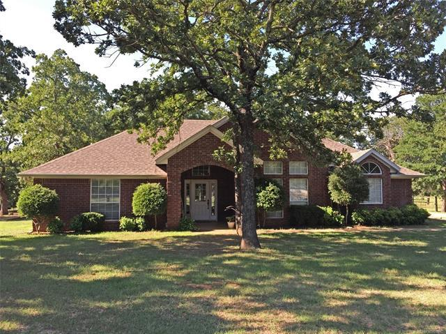 14001 S Church Road, Mannsville, OK 73447 (MLS #1822444) :: Hopper Group at RE/MAX Results