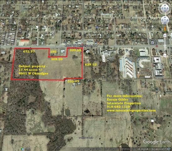 4801 W Okmulgee Street, Muskogee, OK 74401 (MLS #1822524) :: Brian Frere Home Team