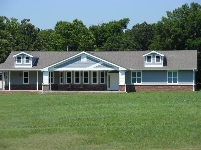 306 N Euchee Valley Road, Cushing, OK 74023 (MLS #1825366) :: Brian Frere Home Team