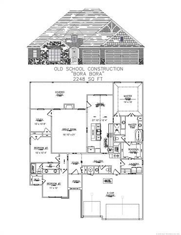 4964 Lake Breeze Drive, Grove, OK 74344 (MLS #1831780) :: Hopper Group at RE/MAX Results