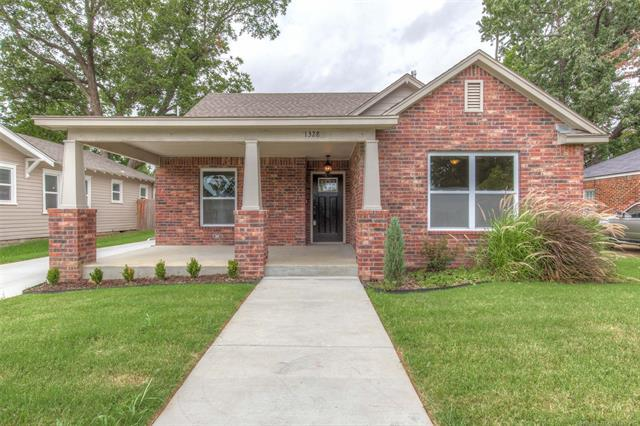 1328 S Florence Place, Tulsa, OK 74104 (MLS #1833039) :: Hopper Group at RE/MAX Results