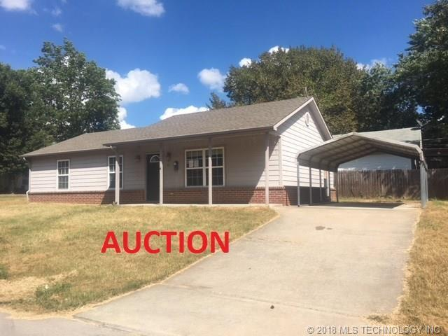 221 N Hickory Street, Bristow, OK 74010 (MLS #1834982) :: Hopper Group at RE/MAX Results