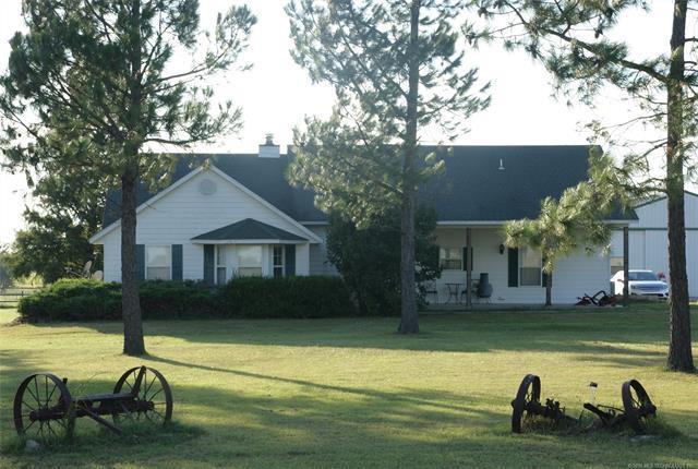 5401 N 435 Road, Adair, OK 74330 (MLS #1836198) :: Hopper Group at RE/MAX Results