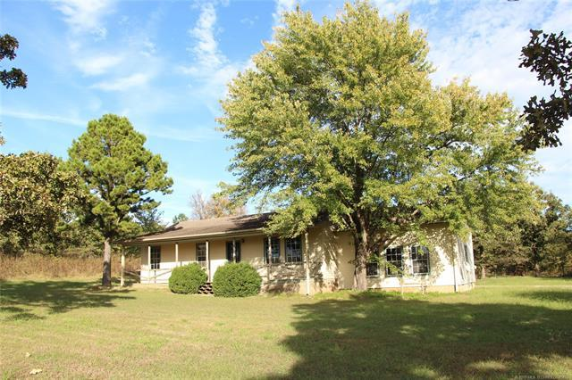 28616 Latham Road, Shady Point, OK 74956 (MLS #1838753) :: Hopper Group at RE/MAX Results