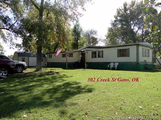 302 Creek Street, Gans, OK 74936 (MLS #1839403) :: Hopper Group at RE/MAX Results