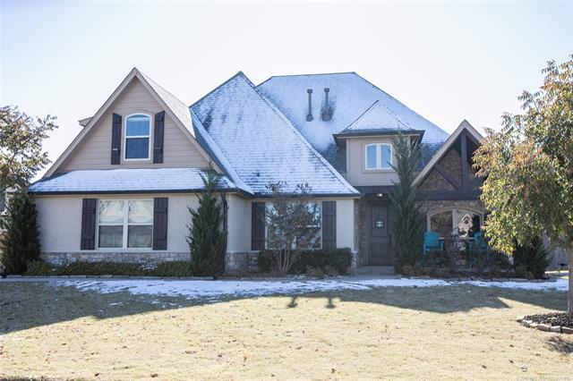 218 W 128th Street S, Jenks, OK 74037 (MLS #1842763) :: Hopper Group at RE/MAX Results