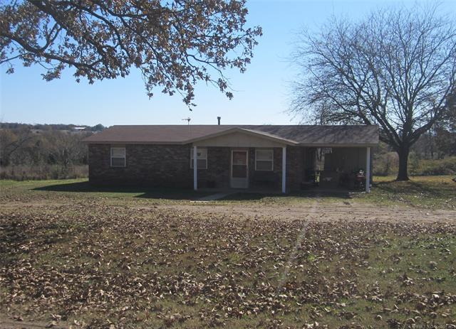 40185 S 4475 Road, Stigler, OK 74462 (MLS #1843761) :: American Home Team