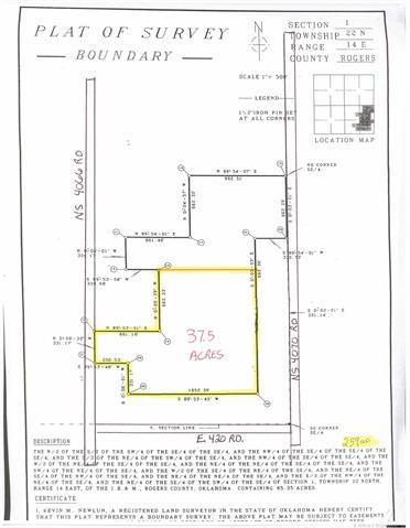 123 NS 4066 Road, Oologah, OK 74053 (MLS #1844366) :: Hopper Group at RE/MAX Results