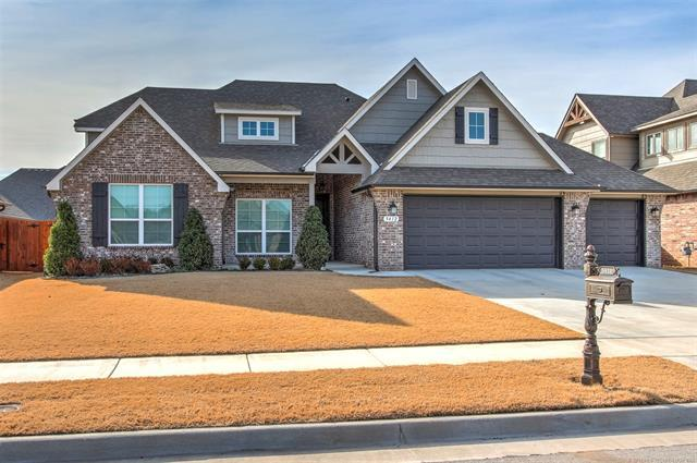 5412 E 122nd Street S, Bixby, OK 74008 (MLS #1902354) :: Hopper Group at RE/MAX Results