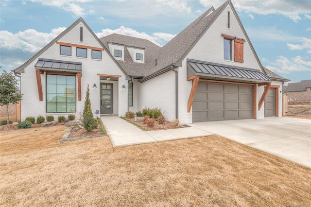 706 E 129th Place S, Jenks, OK 74037 (MLS #1902377) :: Hopper Group at RE/MAX Results