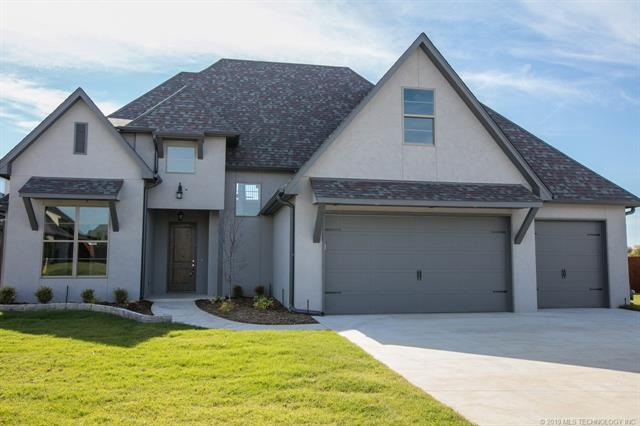 210 W 129th Street S, Jenks, OK 74037 (MLS #1902382) :: American Home Team