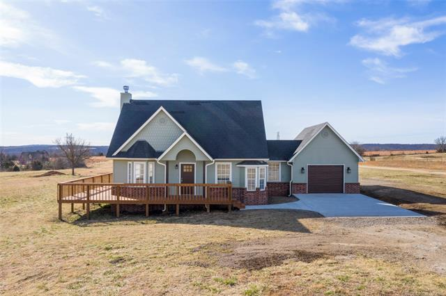 6590 Grey Fox Lane, Sperry, OK 74073 (MLS #1905646) :: Hopper Group at RE/MAX Results
