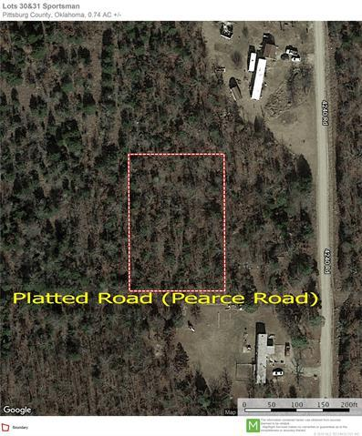 Pearce St Eufaula Sportsman Street, Eufaula, OK 74432 (MLS #1909727) :: 918HomeTeam - KW Realty Preferred