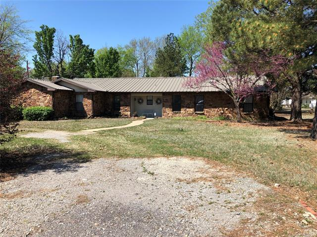 75 NW 3rd Street, Krebs, OK 74554 (MLS #1909877) :: Hopper Group at RE/MAX Results