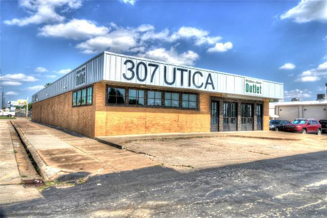 307 S Utica Avenue W, Tulsa, OK 74104 (MLS #1913510) :: Hopper Group at RE/MAX Results